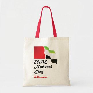 Saco do dia nacional dos UAE Sacola Tote Budget