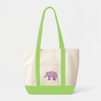 Saco do elefante da páscoa bolsa para compras
