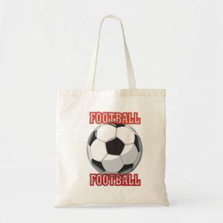 Saco do futebol bolsa para compras