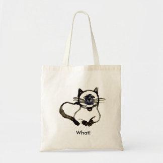 Saco do gato bolsas para compras