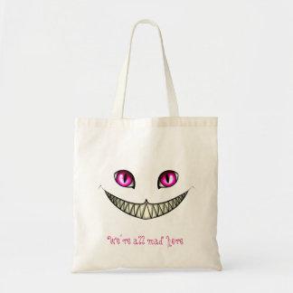 Saco do gato de Cheshire Bolsa De Lona