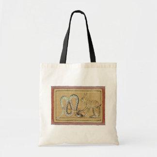 Saco do gato egípcio bolsas para compras