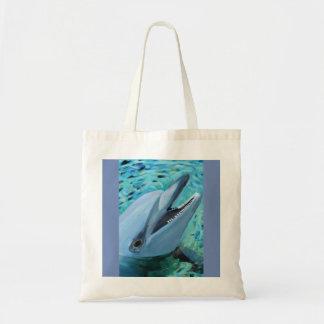 Saco do golfinho bolsa tote