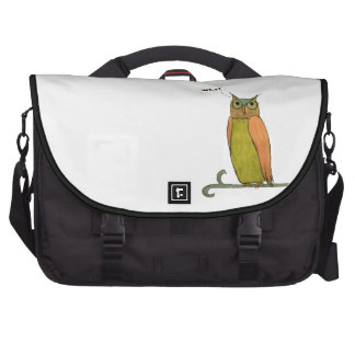 Saco do laptop da coruja bolsas para notebook