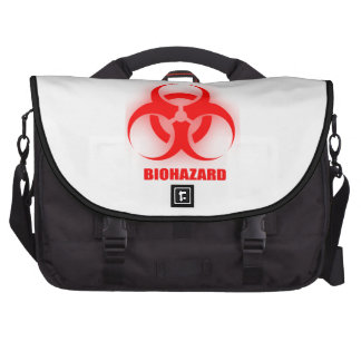 Saco do laptop do BioHazard Pastas Para Laptops