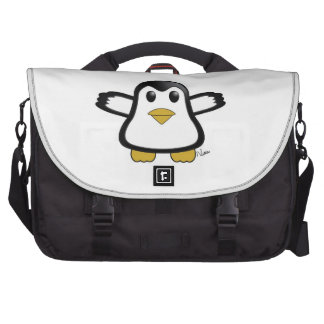 Saco do laptop do pinguim mala para laptop