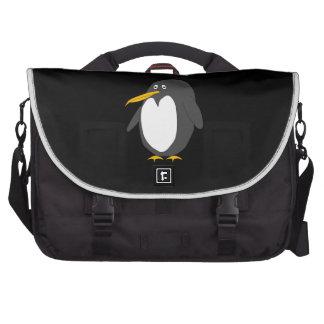 Saco do laptop do pinguim mochila para notebook