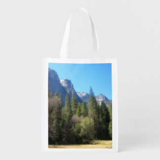 Saco do parque nacional C de Yosemite Sacola Reusável