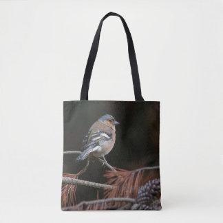 Saco do pássaro dos animais selvagens bolsa tote