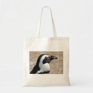 Saco do perfil do pinguim bolsa