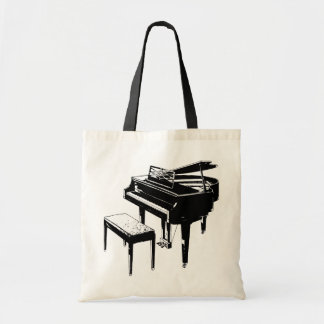 Saco do piano bolsa para compras