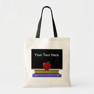 Saco do professor sacola tote budget