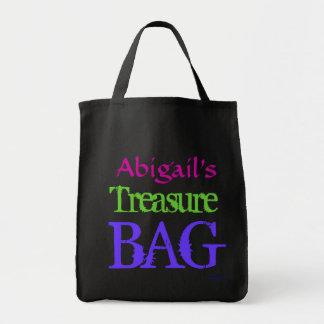 Saco do tesouro do pirata bolsas para compras