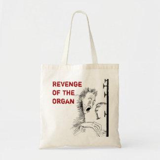 Saco dos desenhos animados do órgão bolsa