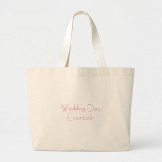 Saco dos fundamentos do dia do casamento bolsas para compras