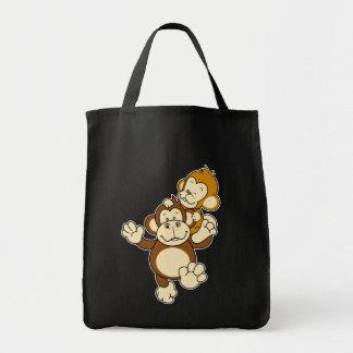Saco dos irmãos do macaco bolsa para compra