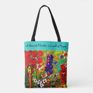Saco dos jardineiro da sacola do jardim, o bolsa