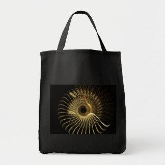 Saco dourado de Phoenix Bolsa