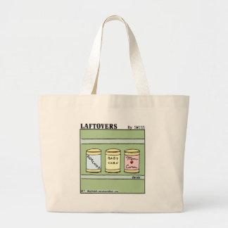 Saco engraçado bonito dos desenhos animados da sacola tote jumbo