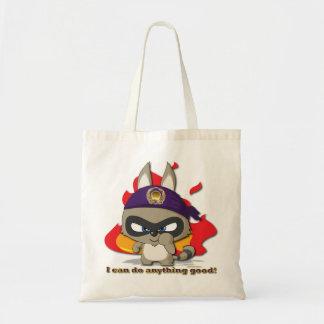 Saco engraçado de Kawaii do personagem de desenho  Bolsa Para Compras