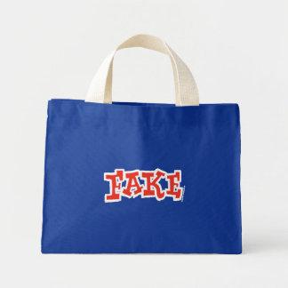 Saco falsificado (escuro) bolsa para compra