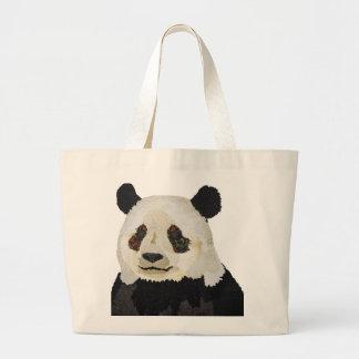 Saco floral da panda bolsas