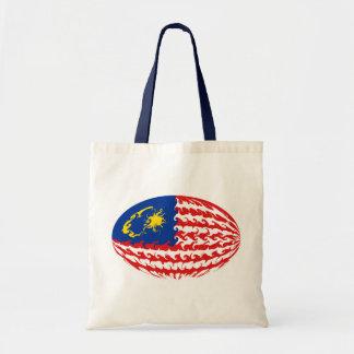 Saco Gnarly da bandeira de Malaysia Bolsa Tote