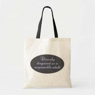 Saco inteligente disfarçado - escolha o estilo & a sacola tote budget