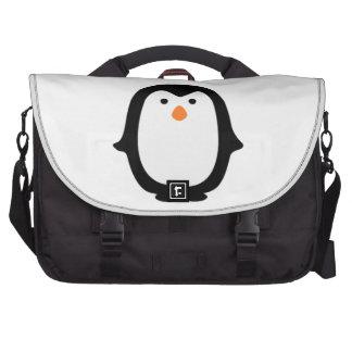 Saco legal da viagem ao trabalho do pinguim dos pasta para laptop