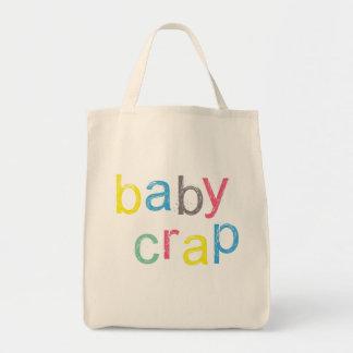 Saco legal do excremento do bebê bolsa tote