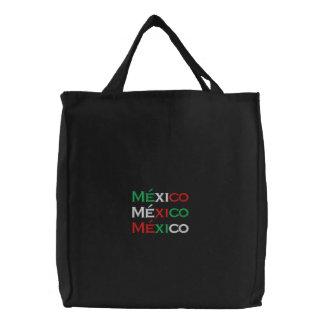 Saco, lindo de México, tri cor Bolsas