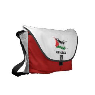 Saco livre do correio de Palestina RedSnow Bolsas Mensageiro