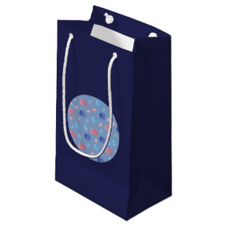 Saco lustroso pequeno do presente das lanternas sacola para presentes pequena