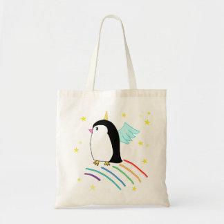 Saco mágico de Uniguin do pinguim do unicórnio Bolsa Tote