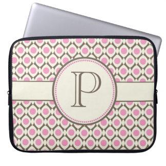 Saco moderno do laptop do teste padrão do bolsa e capa de notebook