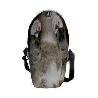 Saco peluches do Meow do gato (versão do gato Bolsa Mensageiro
