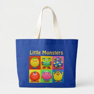 Saco pequeno da fralda dos monstro bolsas