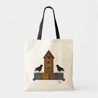 Saco primitivo do Birdhouse Bolsa Tote