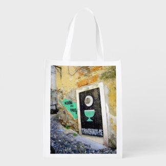 Saco reusável de LISBOA (GRAFITE URBANO) Sacolas Ecológicas