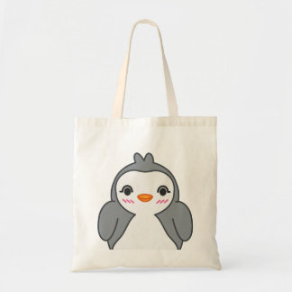 Saco simples do pinguim de Kawaii Bolsa Tote