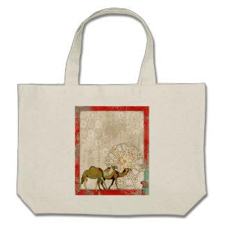 Saco sonhador do carnaval do camelo bolsa para compra