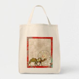 Saco sonhador do carnaval do camelo bolsas de lona