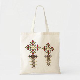 Saco transversal etíope bolsa tote