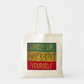 saco vívido da dança da reggae bolsas para compras