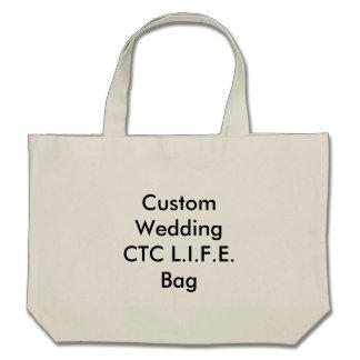 Saco Wedding feito sob encomenda do CTC L I F E Bolsa Para Compras