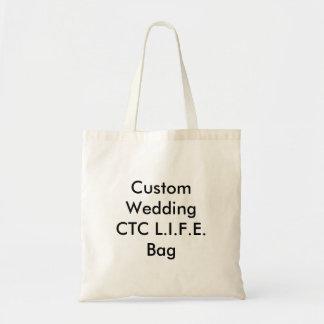 Saco Wedding feito sob encomenda do CTC L.I.F.E. Sacola Tote Budget