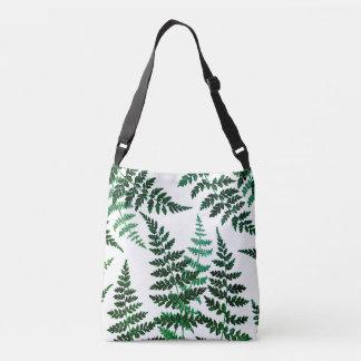 Sacola ajustável da felicidade botânica bolsas carteiro