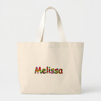 Sacola branca das canvas para Melissa Bolsa De Lona