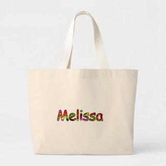 Sacola branca das canvas para Melissa Sacola Tote Jumbo