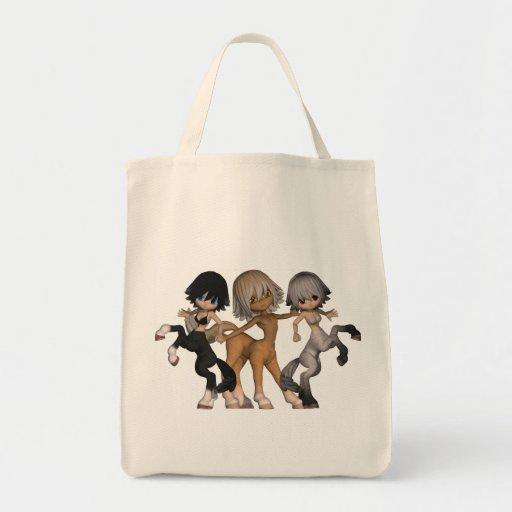 Sacola brincalhão do mantimento dos centauros bolsa para compra